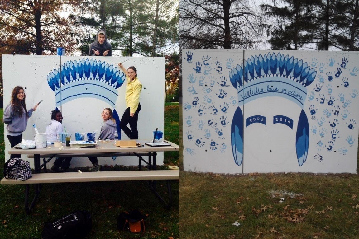 Class of 2014 Starts New Tradition: The Senior Wall