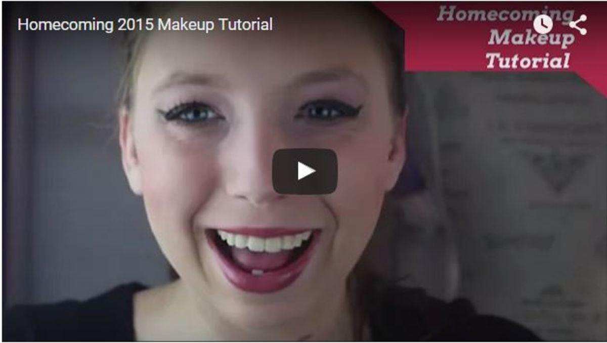 Homecoming Makeup DIY