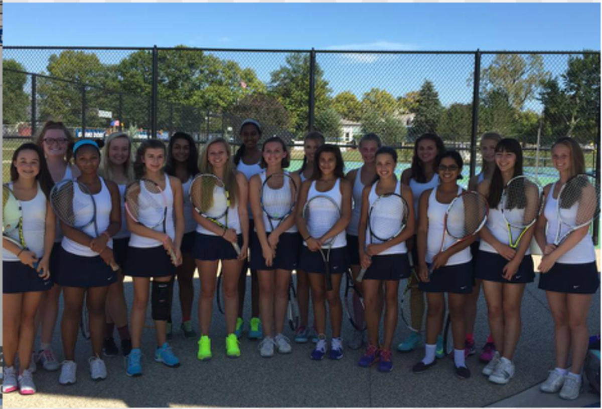 Girls' Tennis Finds Success in End of Year Tournaments