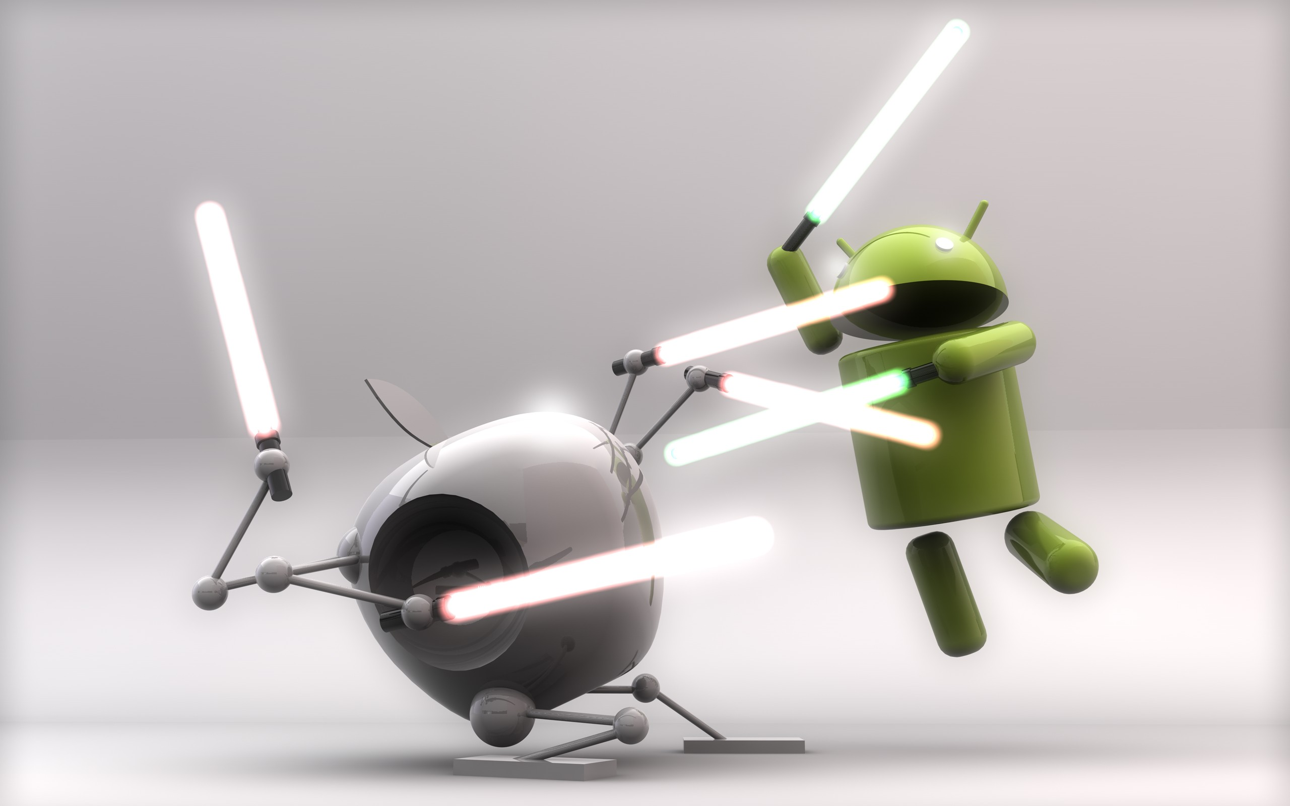 A Pizza, a Pig and a Phone: A Guide to the Android VS IOS Debacle.