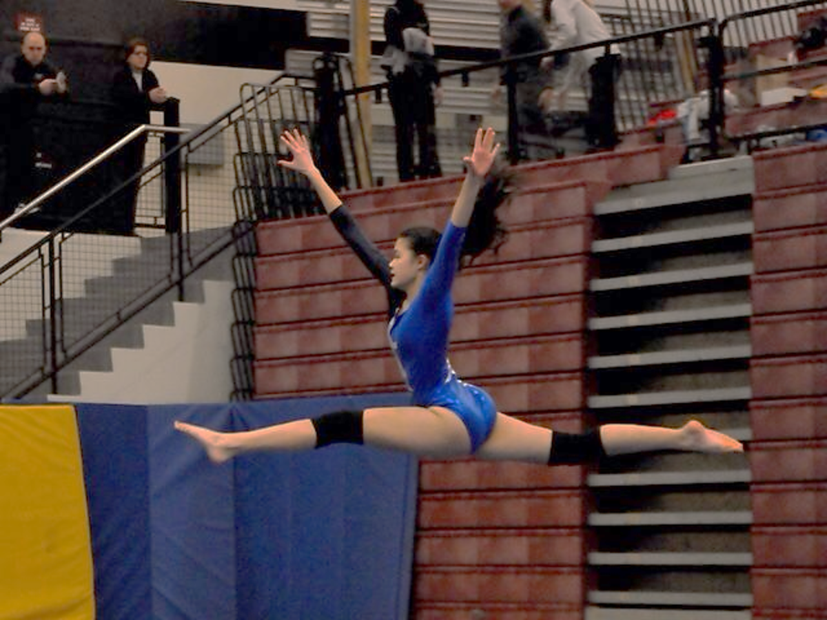 Gymnastics Team in the Midst of a Strong Season