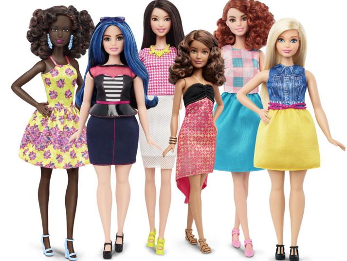 Introducing: Barbie's New Bod(ies)