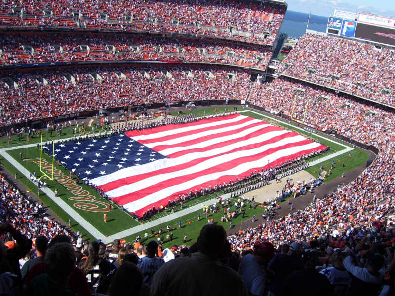 Should Athletes Stand During the National Anthem?