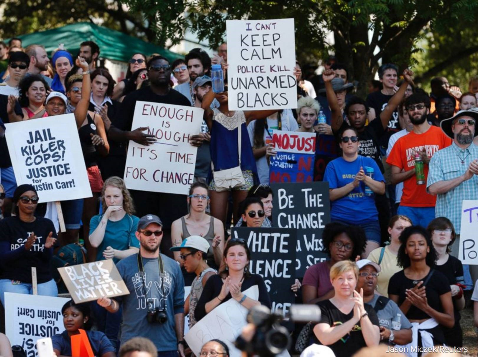 "Charlotte Shootings: The ""Justifications"" of a Black Man's Death"