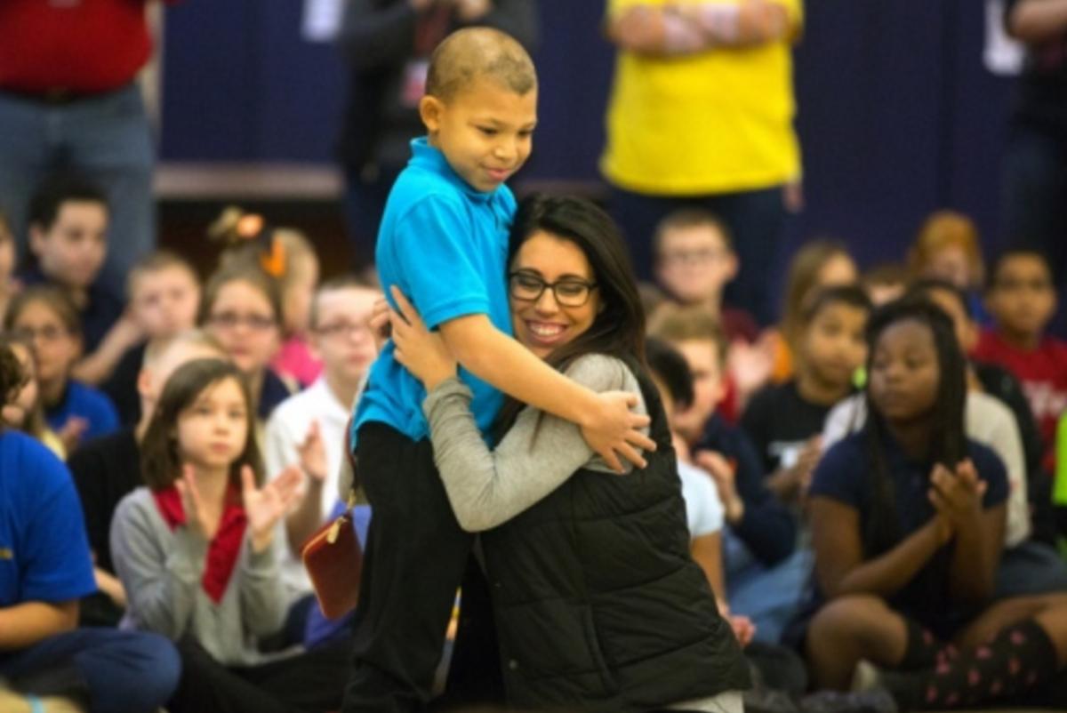 Make-A-Wish Makes Fourth-Grade Boy's Dream a Reality