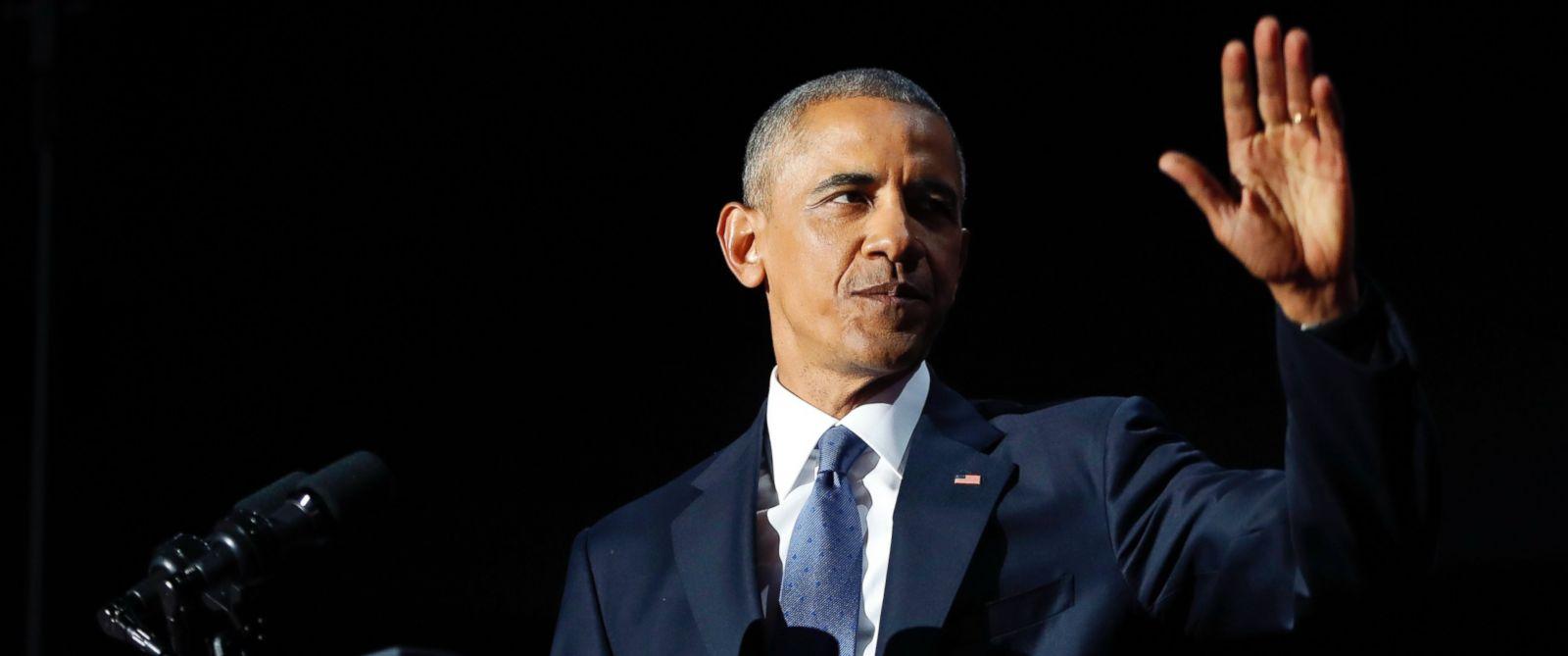 Obama's Final Weeks As President