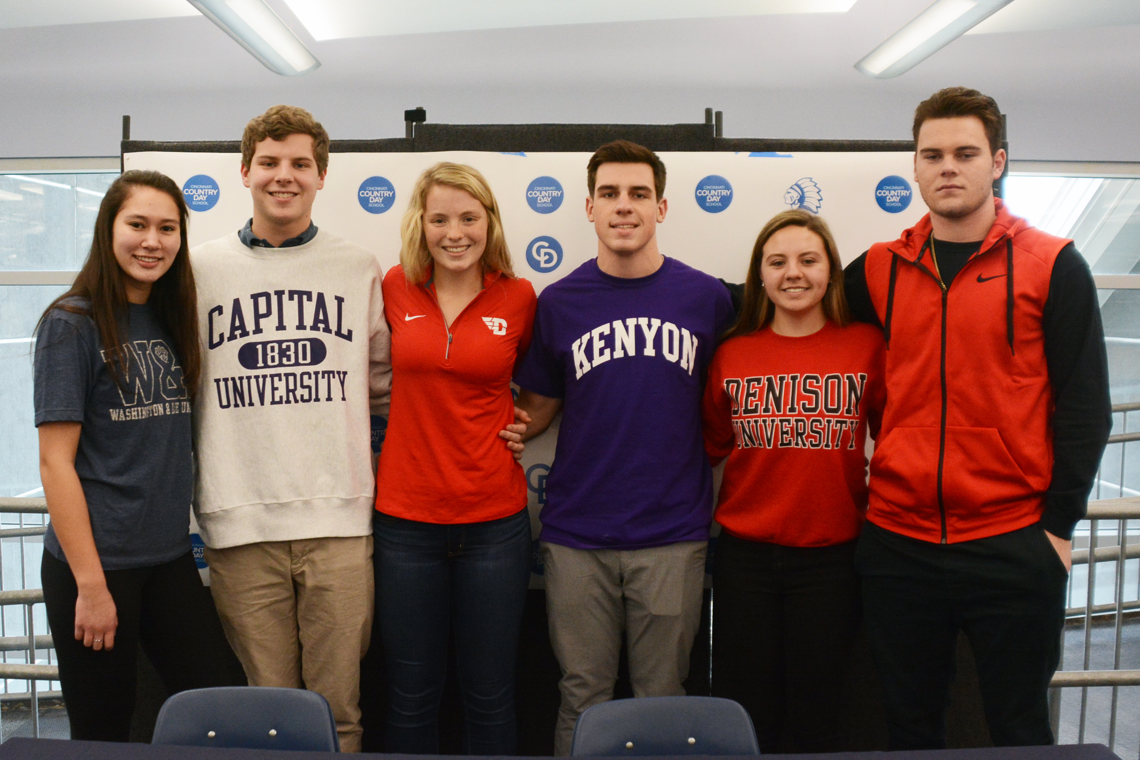 Six Country Day Athletes Commit on National Signing Day