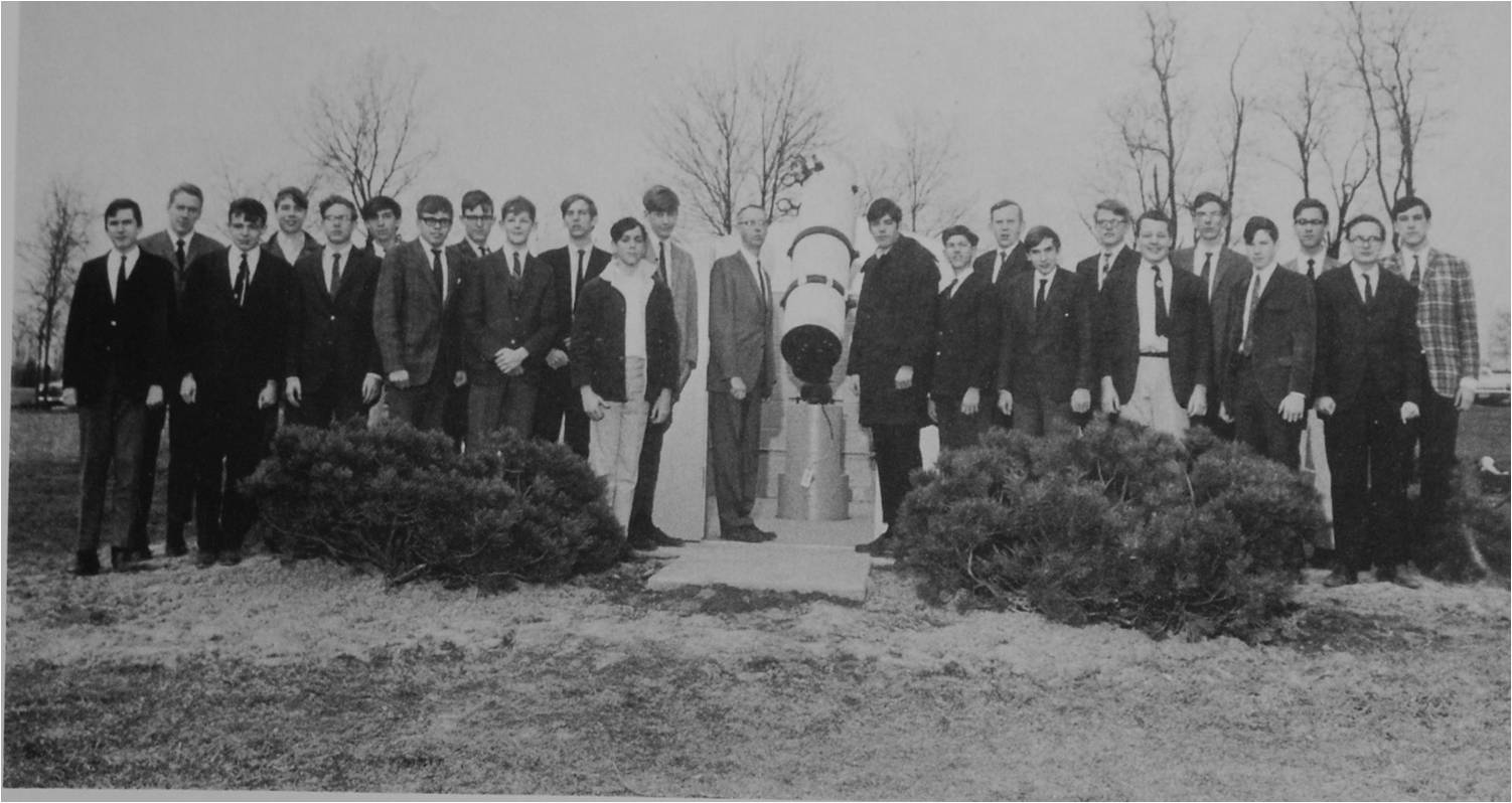 A History of the Stars: The Astronomy Club is revived by Rutherford '18