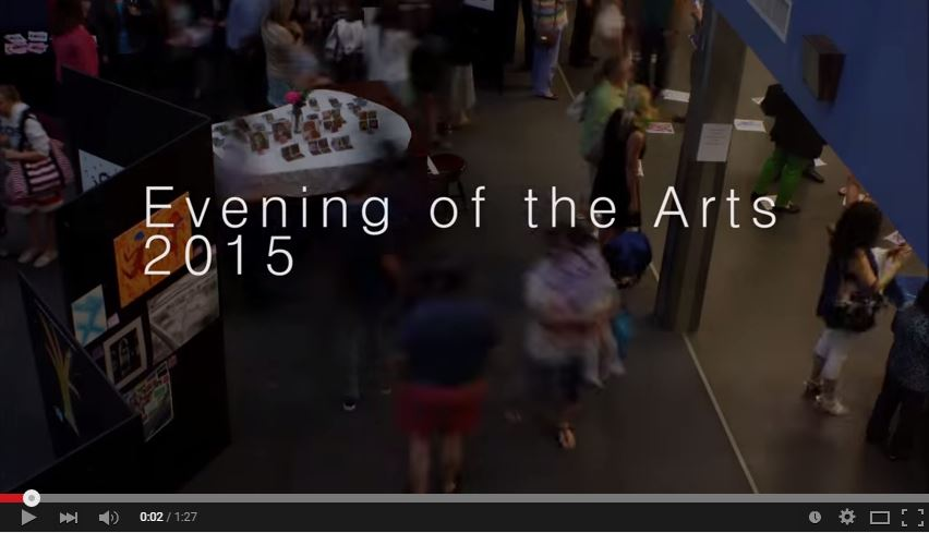 Video: Evening of the Arts 2015