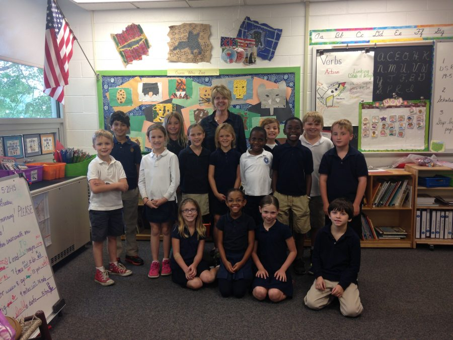 Second Grade Teacher Mrs. Morarity Leaves Country Day