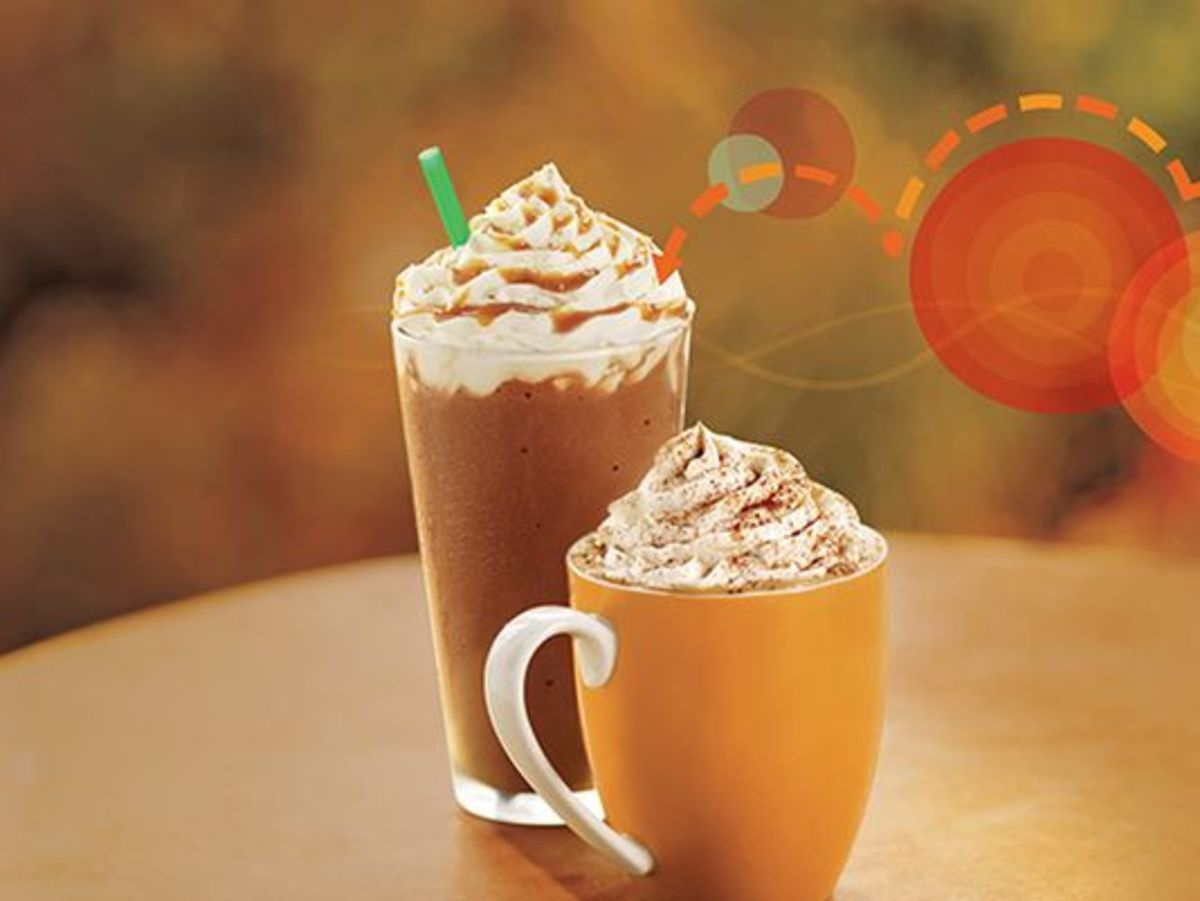 Fall Fun at Starbucks!