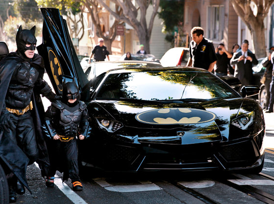 "San Francisco Transformed into ""Gotham City"" during Make-A-Wish Adventure"