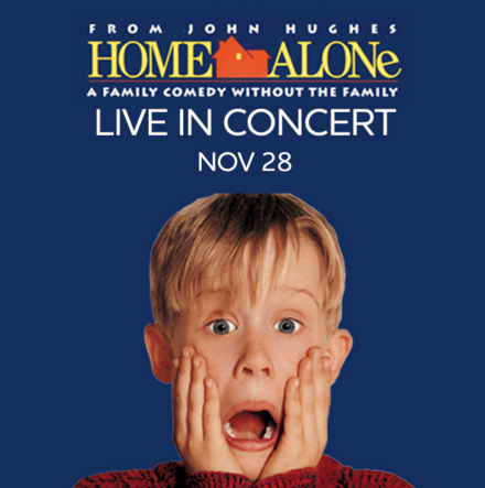 May Festival Youth Chorus Performs Home Alone