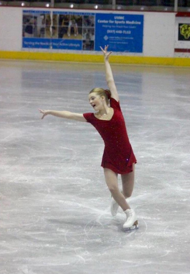 Hannah Laird, National Competitive Figure Skater