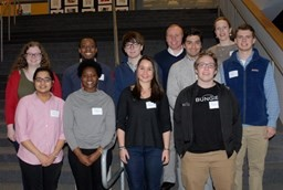 Recent Alumni pass on their Advice about College and Beyond at Annual Senior Seminar