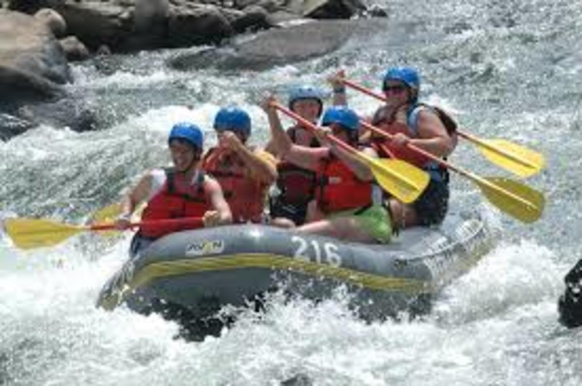 Junior Rafting Trip: My Experience