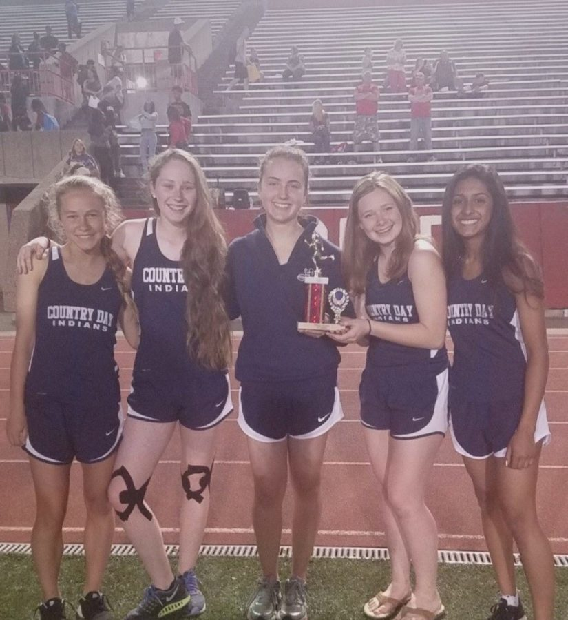 Girls Track and Field Wins Norwood Invitational, Boys Place Fourth