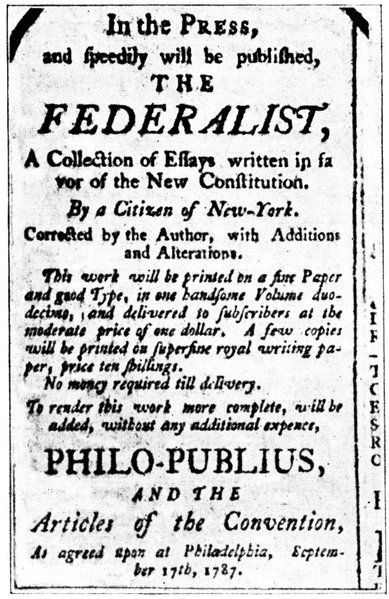 The Importance of Federalist #1