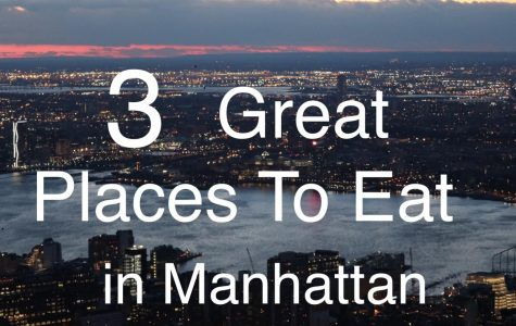 Three Great Restaurants in Manhattan