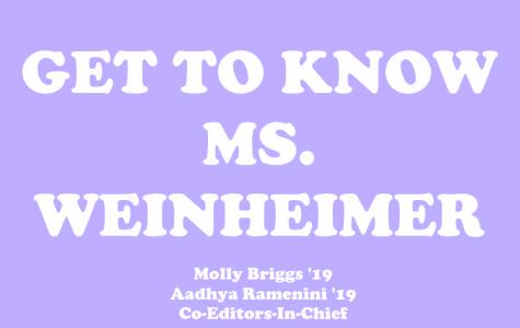 Get to Know Ms. Weinheimer