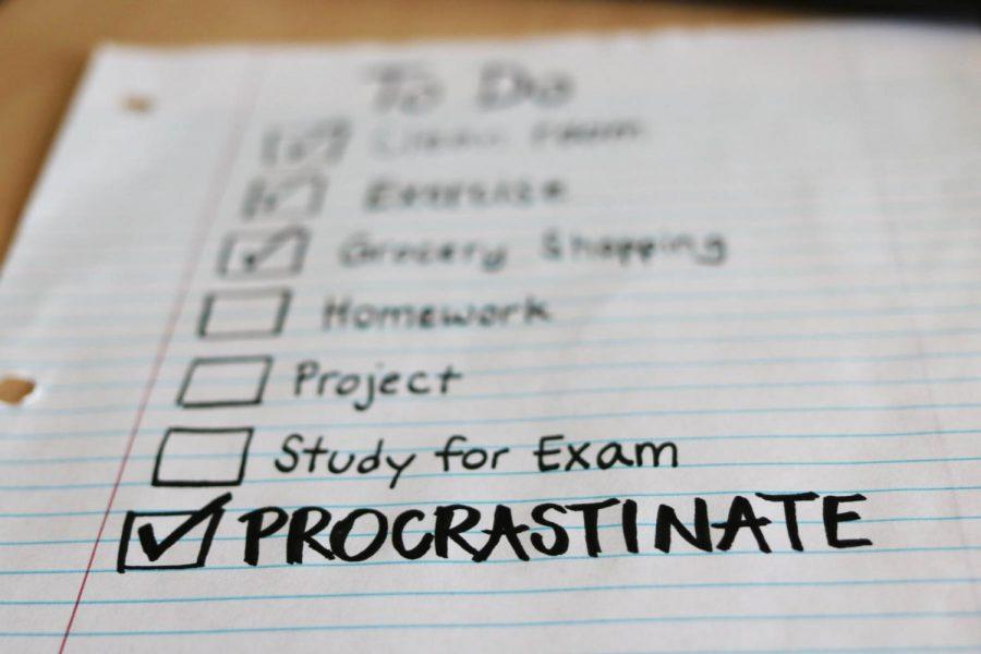 Top Ten Ways to Procrastinate