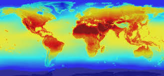 Global temperature data from NASA