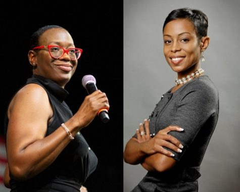 Pictured above is Nina Turner (left) and Shontel Brown (right)